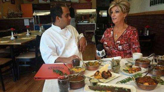 Curry Station B LIVE ON ABC 7 NEWS CHANNEL WITH CHEF JUDI