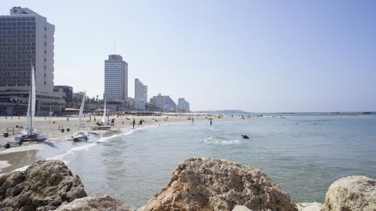 Olympia Hotel Tel Aviv - By Zvieli Hotels: Вид на море