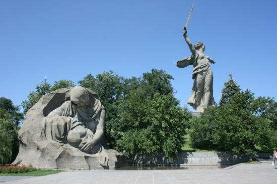 'The Motherland Calls' Sculpture