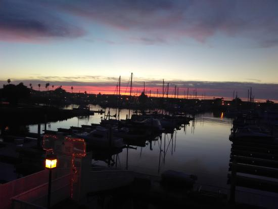 Hampton Inn Channel Islands Harbor: Can't beat California for weather!