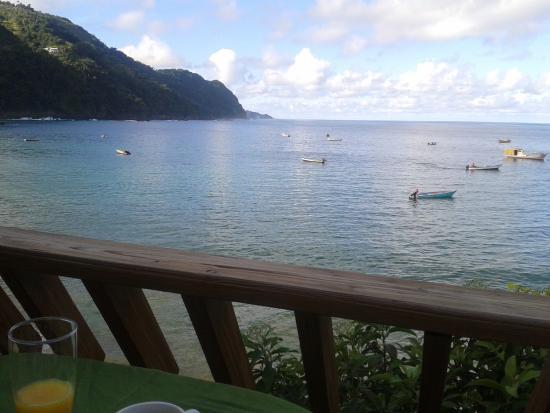 Naturalist Beach Resort: Wahoo Frühstücksterrasse