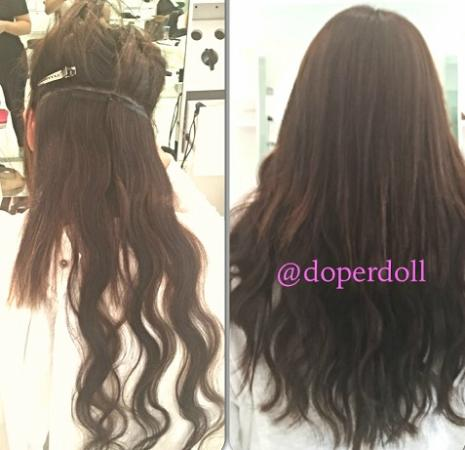 Tape Hair Extensions Before And After Pictures 98