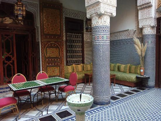 Riad Les Chrifis: The main hall
