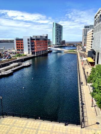 Crowne Plaza  Liverpool City Centre: view