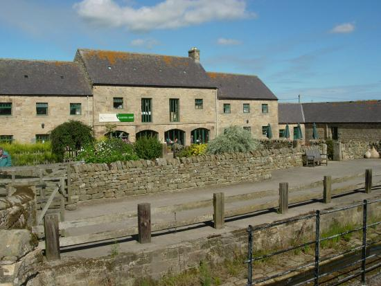 Kirkharle, UK: C18th farm steading containi 12 craft workshops and Coffee House. Birthplace of Capability Brown
