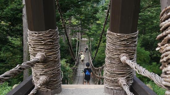 Vine Bridge, Ikedacho
