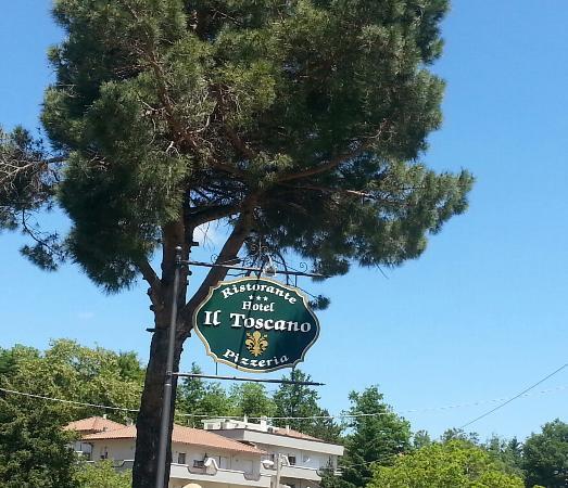 insegna - Picture of Il Toscano, Bagno di Romagna - TripAdvisor