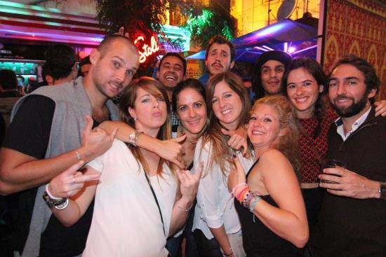 Party in La Corrida