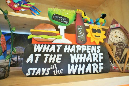 Toucan's at the Wharf: A gift from our staff to owners