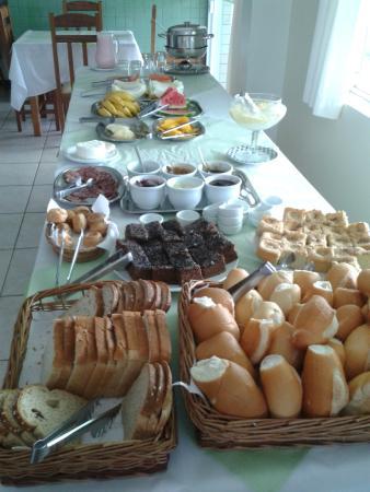 Pousada Casagrande: Café da manhã