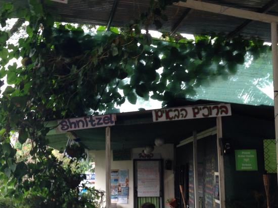 Falafel Bar: Signage
