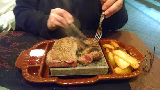 Casablanca Club: Hungarian Steak on the Hot Stone