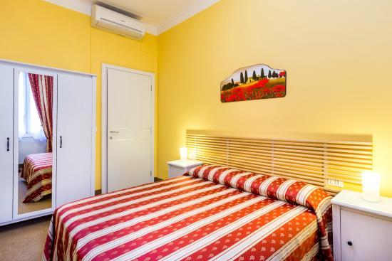 Hotel Boccascena : camera matrimoniale in dependance