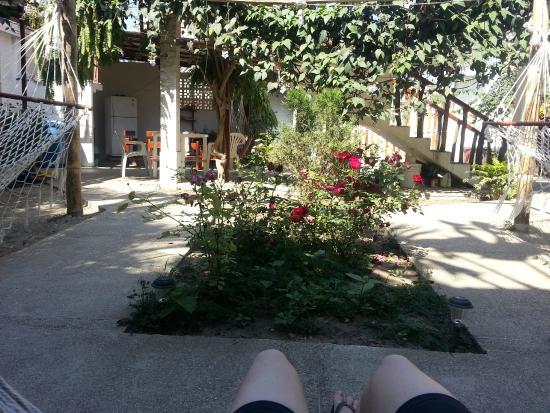 Hostal Machalilla: jardín