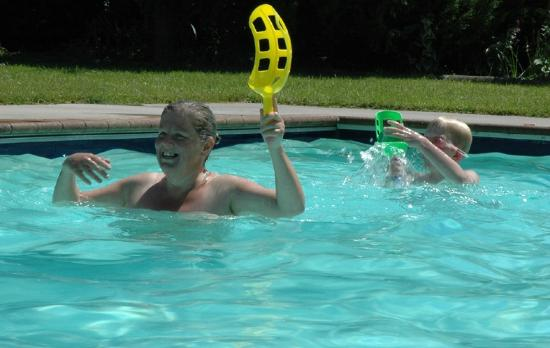 Wai-Natur Naturist Park: Family fun in the pool
