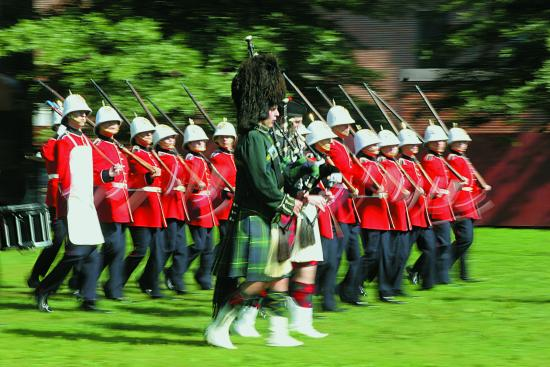 Fredericton, Canada: Changing of the Guard Ceremony