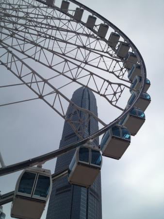 Hong Kong Observation Wheel: View from the ground