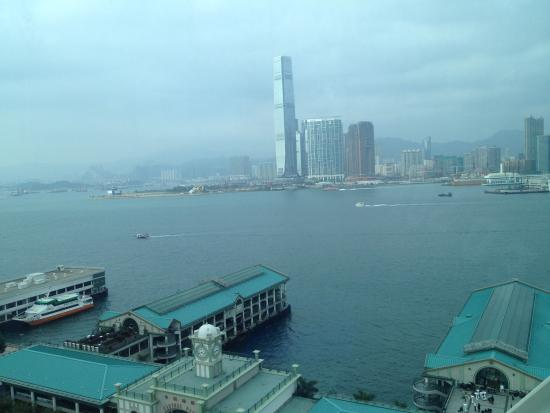 Hong Kong Observation Wheel: ICC from the wheel