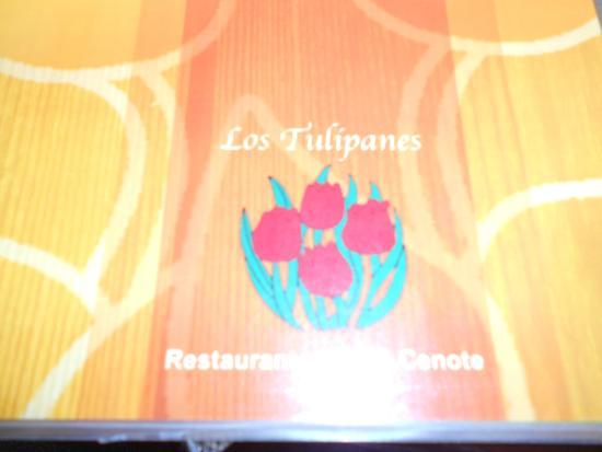 Los Tulipanes Restaurante, Bar & Cenote: MENU