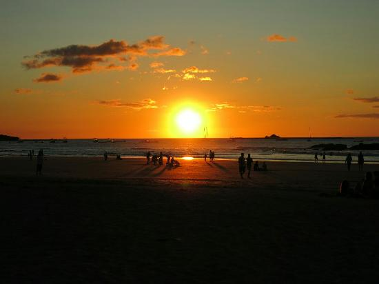 Dreamsea Surf Glamping Tents : Tamarindo sunset