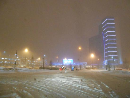Blue Chip Casino and Hotel: Refuge in a snow storm