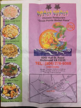 Wah Wah Chinese Restaurant