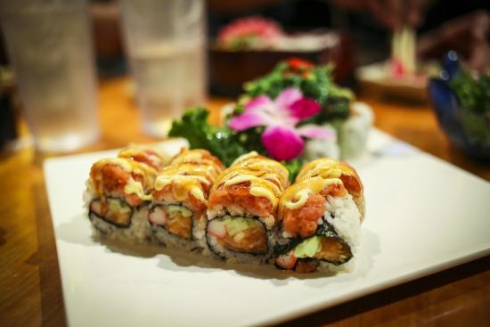Volcano Japanese Restaurant: sushi combo