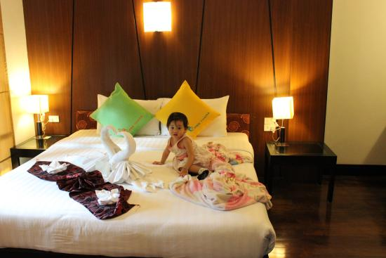 Kiree Thara Boutique Resort: เตียงนอนหนานุ่มมาก