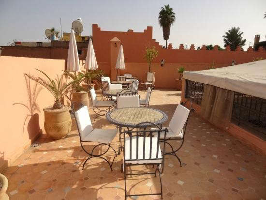 Riad Dar Mimouna Hotel: Roof terrace