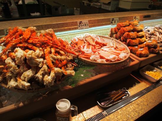 3 types of crab picture of seafood buffet restaurant nanda chuo rh tripadvisor co za sapporo seafood buffet yelp nanda sapporo seafood buffet