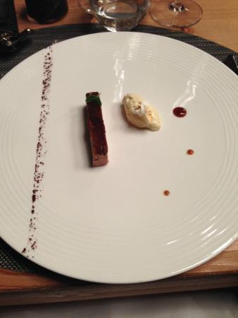 Hotel Koh-I Nor : l'entrée de foie gras
