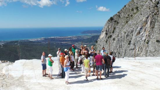 Carrara Marble Quarries tours