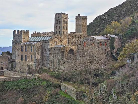 El Port de la Selva, España: Sant Pere de Rodes. Vista general.