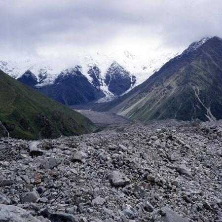Gongga Temple: Auf dem Gongga Gletscher bei 4150 m ü.M.