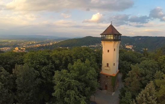 Karlovy Vary, Czech Republic: Diana outlook tower