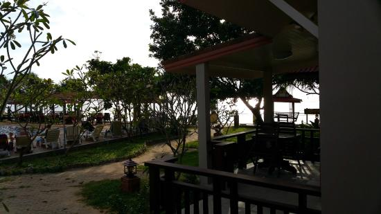 Lanta Sea House Resort : View from Bungalow A2