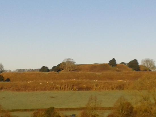 Sarum Heights: View from the front bedrrom towards Old Sarum