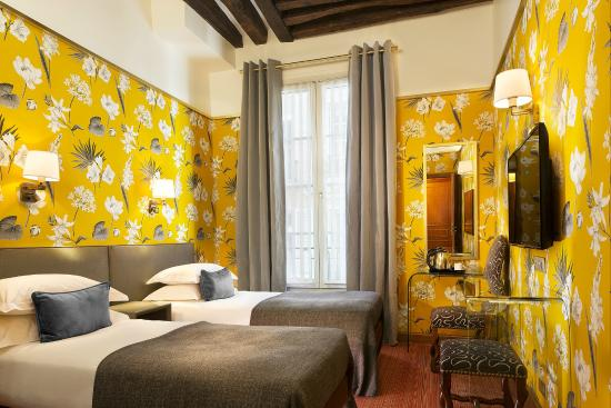Hotel Saint Paul Rive Gauche: Chambre TWIN supérieure