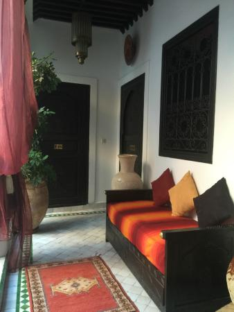 Riad Ain Marrakech : Alley to other rooms