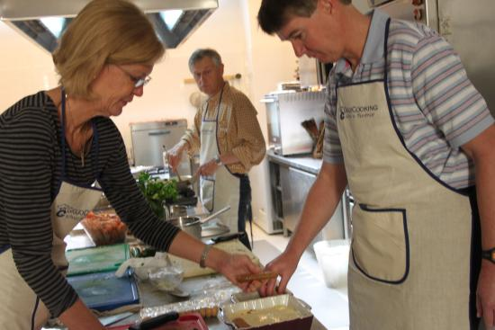 Giglio Cooking Day Course: This is definitely a hands on cooking school