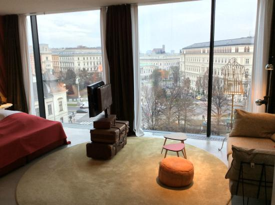 Panorama Suite Picture Of 25hours Hotel At Museumsquartier Vienna