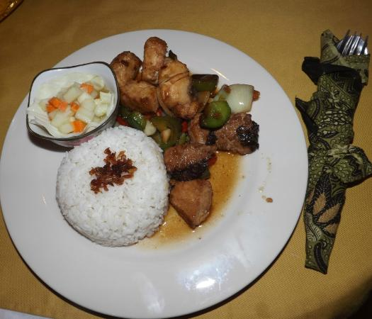 Abang, Indonesia: Honey Chilli Pork
