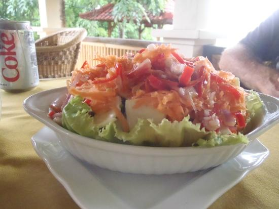 Abang, Indonesia: Fresh Salad