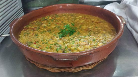El Rincon de las Paellas: Caldoso de Marisco limpio