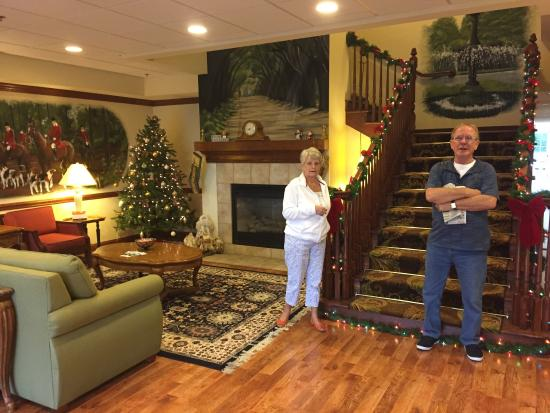 Country Inn & Suites by Radisson, Aiken, SC: Mum and dad 1st stay at country inn