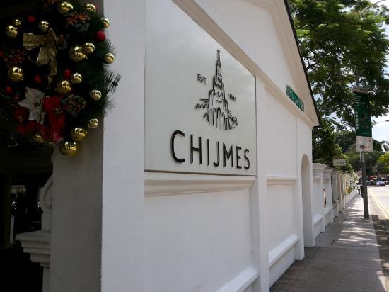 Chijmes Singapore, December 14th, 2014.