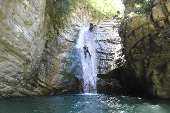 Canyoning gorges du verdon photo de base sport and - Domaine de la porte des gorges du verdon ...