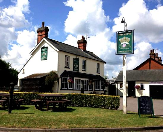 Stansted Mountfitchet, UK: The Rose & Crown