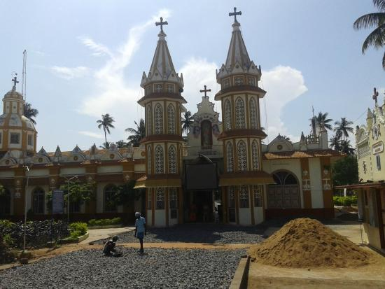 Union Territory of Pondicherry, Hindistan: Church view