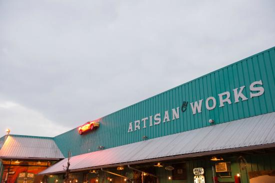 Artisanworks: Extrior of Artisan Works